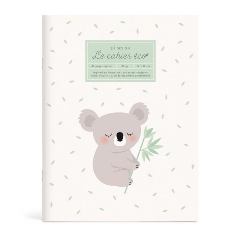 Cahier écologique Koala Zü