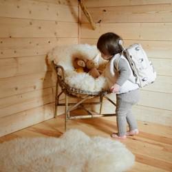 Sac à dos Maternelle Bog Beige Baby Pack Jojo Factory