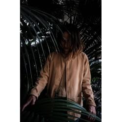 Veste Femme Manioc Velours côtelé Indian Tan Poudre Organic