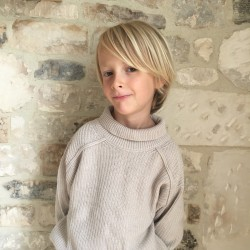 Pull en lainage Ecru Phil & Phae
