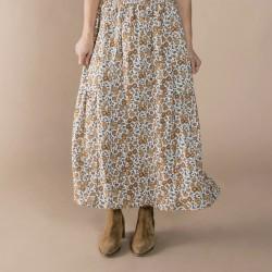 Jupe longue Femme Bloom Rylee + Cru