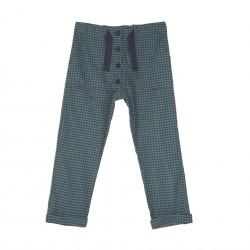 Pantalon Vichy Vert Emile et Ida