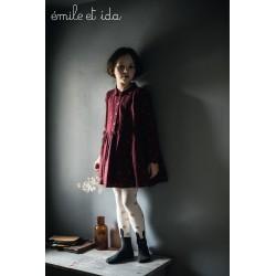 Robe Mukesh Bordeaux Emile et Ida