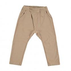 Pantalon baggy nude Bonmot