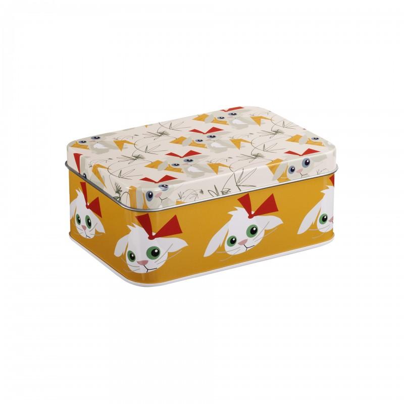 Boîte rectangle Lapin Blafre