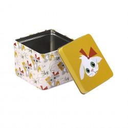Boîte carrée Lapin Blafre