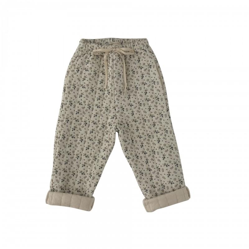 Pantalon matelassé AOP Floral Liilu