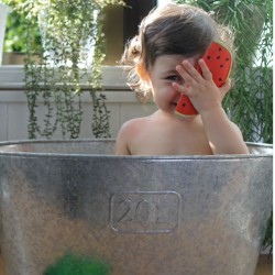 wally the watermelon oli & carol pastèque