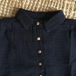 Robe Vichy Bleu Marine Emile et Ida