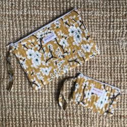 Duo de Pochettes Nidhi Mimosa Bindi Atelier