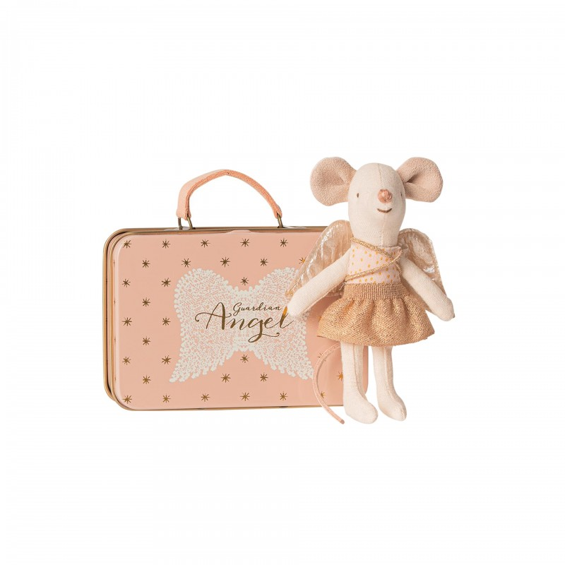 Petite soeur ange et sa valise Maileg