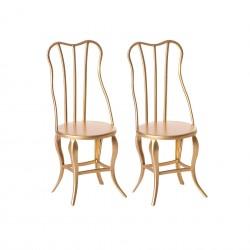 Chaises vintage pour souris Maileg
