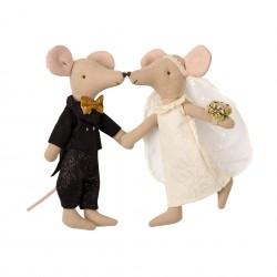 Couple de mariés Souris Maileg
