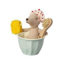 Souris dans sa baignoire Maileg