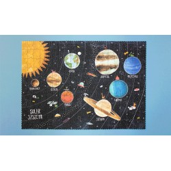 Discover the Planets - Puzzle phosphorescent Londji