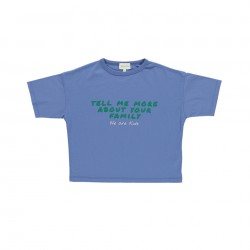 Tee-shirt Dylan Quiet Blue We are Kids