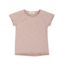 Tee-shirt rayé manches courtes raglan Phil & Phae