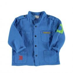 Veste bleu indigo Piupiuchick