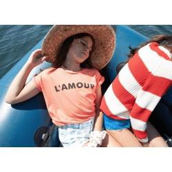 """Tee-shirt Corail """"L'Amour"""" Piupiuchick"""