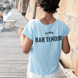 "Tee-shirt Bleu ""Ted"" Piupiuchick"