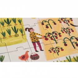 Enjoy the Farm Puzzle Londji