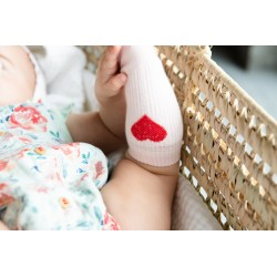Chaussettes roses coeur Piupiuchick