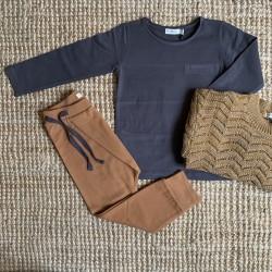 Tee-shirt manches longues Graphite Phil & Phae