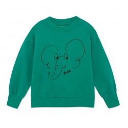 Elephant Sweatshirt Bobo Choses