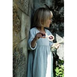 Robe Liseron Glacier Gray Poudre Organic