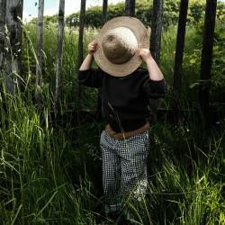 Pantalon Pomelos Vichy Poudre Organic