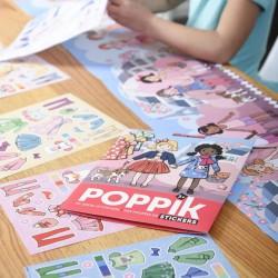 Poster Poupées 200 gommettes Poppik