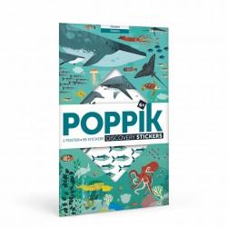 Poster Océans Poppik