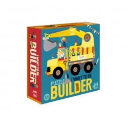 Puzzle I want to be Builder Londji