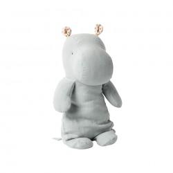 Hippo Bleu/Gris (moyen) Maileg