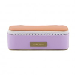 Trousse Lilas et Orange Sticky Lemon