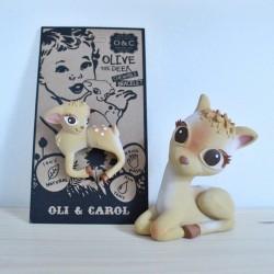 Bracelet de dentition  faon Oli & Carol