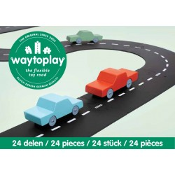 Autoroute Highway route flexible Way To Play 24 pièces