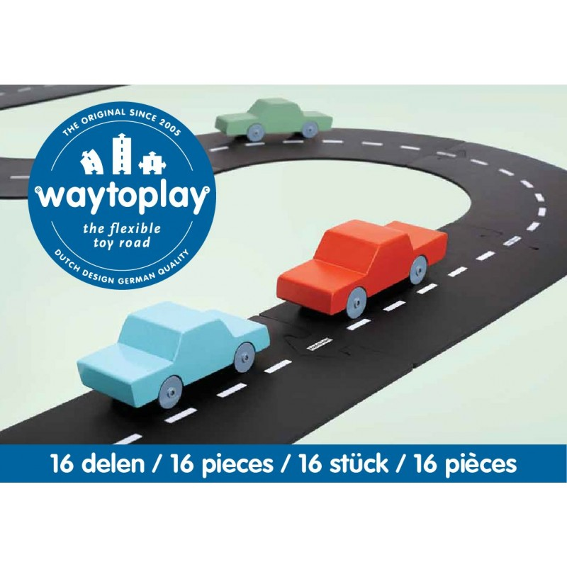 Route Nationale Expressway route flexible Way To Play 16 pièces