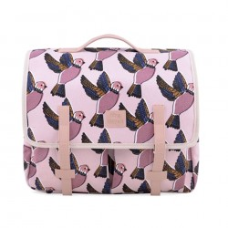 Cartable Pink Birds Jojo Factory