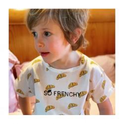Tee-shirt Croissant Emile et Ida