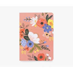 3 carnets Lively Floral Rifle Paper Co