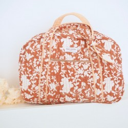 Sac week-end Nidhi Terracotta Bindi Atelier