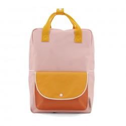 Grand sac à dos Candy Pink Sticky Lemon
