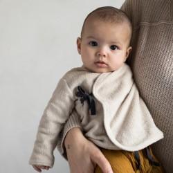Cache-coeur bébé Teddy Straw Phil & Phae
