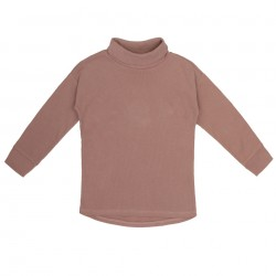 Tee-shirt côtes col roulé Powder Phil & Phae