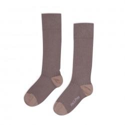 Chaussettes Hautes côtelées Heather Phil & Phae