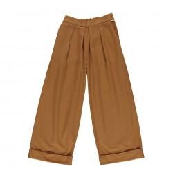 Pantalon Jonc Mademoiselle Brown Sugar Poudre Organic