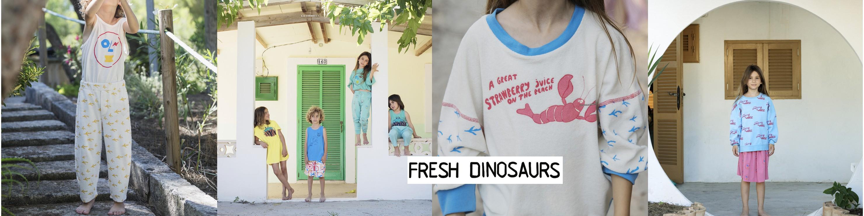 Fresh Dinosaurs : des vêtements qui ont du peps, fabriqués en Espagne