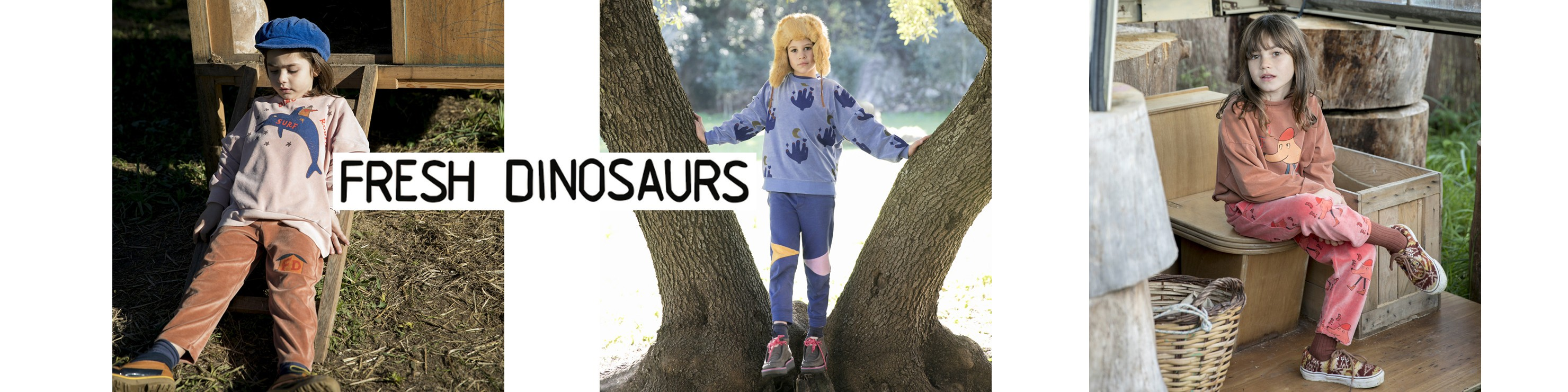 Fresh Dinosaurs AW19 : Stay gold, Ponyboy, une jolie collection fabriquée en Espagne