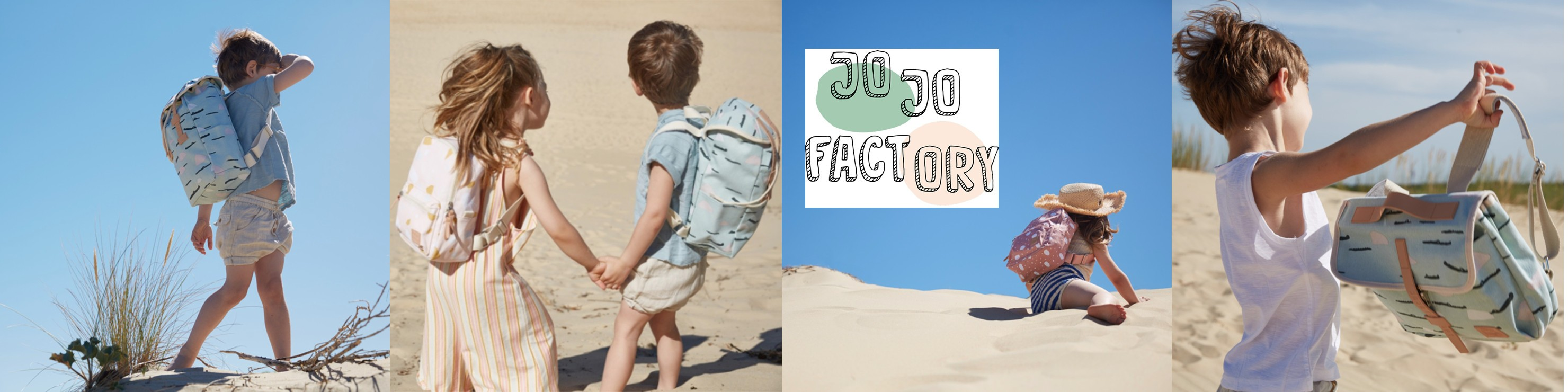 Jojo Factory : sacs et cartables pour enfants, maternelle et primaire